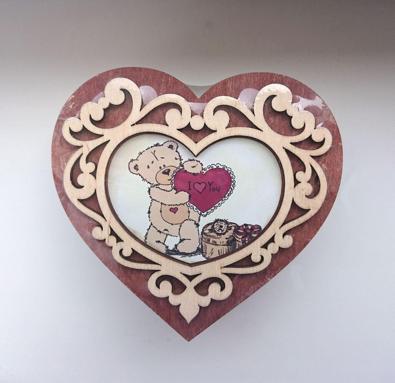 Шкатулка Сердце среднее ф