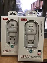 Зарядний пристрій L37 +cable TYPE-C White