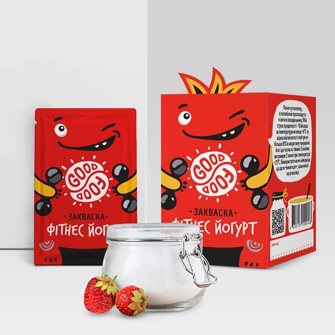 Закваска для приготовления йогурта Фитнес Йогурт Good food (1 пакетик)