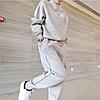 Женский спортивный костюм. Шерстяной и кашемировый вязаный теплый костюм