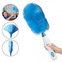 Щетка для уборки пыли Hurricane Spin Duster Blue/White