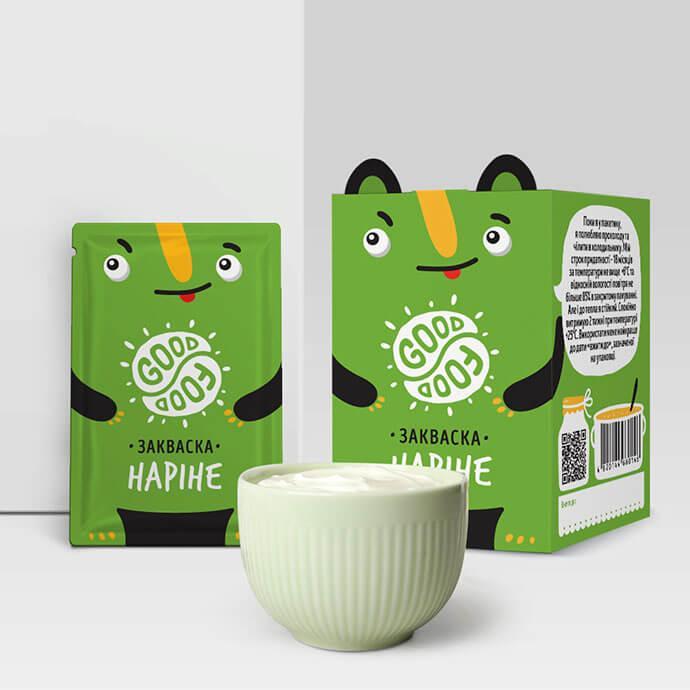 Закваска для приготовления йогурта Наринэ Good food (1 пакетик)