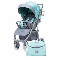 Коляска 4 baby moody Limited Edition (з сумкою) Aqua