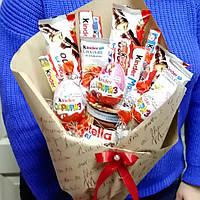 Букет из конфет Киндер крафт, фото 1