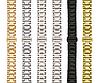 Блочные браслеты для наручных часов из стали к Samsung Gear S2 Classic 20 мм, фото 2