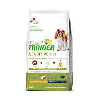 Natural Trainer (Натурал Тренер) Сухий беззерновой корм з кониною для дорослих собак дрібних порід (7 кг)