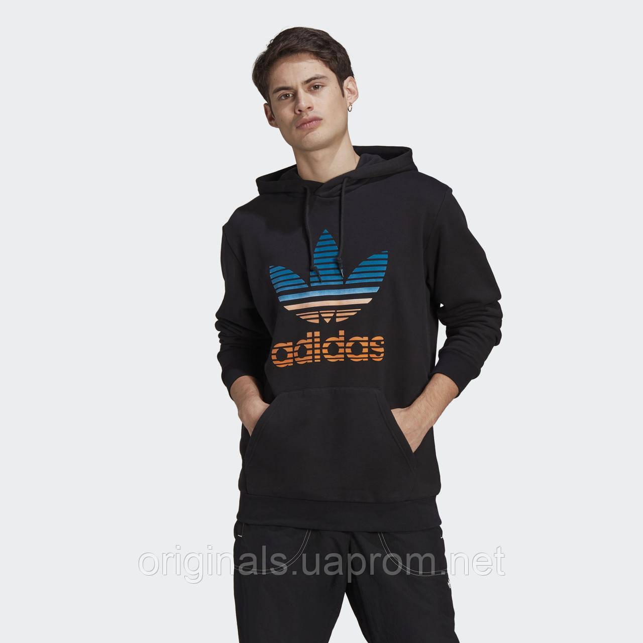 Мужское худи Adidas Originals Trefoil Ombré GP0158 2021