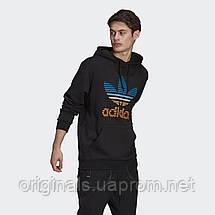 Мужское худи Adidas Originals Trefoil Ombré GP0158 2021, фото 2