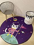 """Бесплатная доставка! Утепленный коврик """"Космо Китти""""  (150 см диаметр), фото 3"""