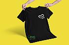 """Парні футболки для закоханих """"Серця з Літерами імені"""", фото 3"""