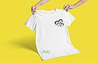 """Парні футболки для закоханих """"Серця з Літерами імені"""", фото 2"""