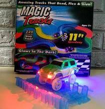 Детский светящийся гибкий трек Magic Tracks 220 деталей TOP