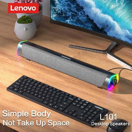 Портативная колонка Lenovo L101 черная, фото 2