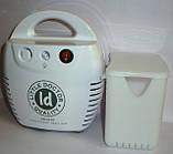 Ингалятор компрессорный LD-211C для взрослых и детей, универсальный, лечение верхних и нижних дых. путей, фото 3