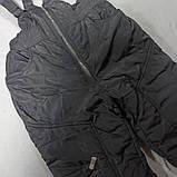 Костюм зимний модный оригинальный тёплый для мальчика. В комплекте куртка и штаны полукомбинезон., фото 3