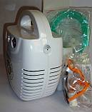 Ингалятор компрессорный LD-211C для взрослых и детей, универсальный, лечение верхних и нижних дых. путей, фото 4