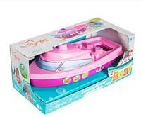 Іграшка розвиваюча Tigres Кораблик (39377 Рожевий)