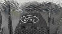 """Автомобильные чехлы на сиденья """"NIKA"""" FORD TRANSIT 1+2 2006- 3 подголовника; передний подлокотник."""