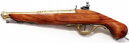 Макет Пистолет кремнёвый, XVIIІ век Англия   1196L Коллекционное оружие! (DA)