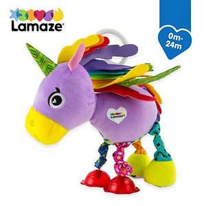 Розвиваюча іграшка для малюків Рожевий єдиноріг Lamaze