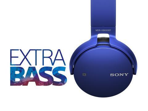 Беспроводные Bluetooth наушники Sony MDR-XB650BT