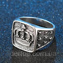 Кольцо Мужское Стерлинговое серебро 925 (Покрытие) 20 размер