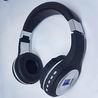 Беспроводные наушники аккумуляторные гарнитура с LED дисплей MP3 плеером и радио 471 BT черные