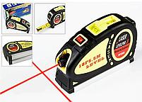 Лазерные рулетки | Лазерный уровень Level Pro 3 с рулеткой 5,5 м, фото 2