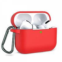 Чехол для Airpods Pro | Чехол с карабином для AirPods Pro оригинал (выбор цвета), фото 7