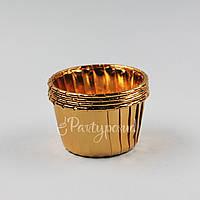 Капсула фольгированная золотая с усиленным бортом