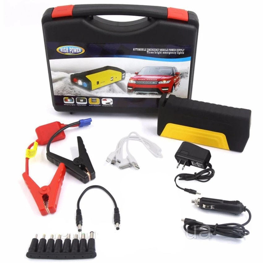 Пусковое устройство для автомобиля Jumpstarter T15A (50800 mAh)