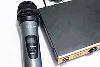 Бездротовий мікрофон   Бездротова радіосистема на два мікрофона DM UKC-KM688, фото 3
