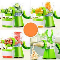 Ручна соковижималка для цитрусових Manual Juicer | Шнекові соковитискачі, фото 3