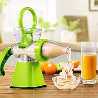 Ручна соковижималка для цитрусових Manual Juicer | Шнекові соковитискачі, фото 5