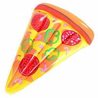Пляжный надувной матрас-плот Пицца 190*130 см , фото 2