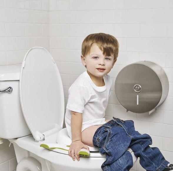 Дитячий дорожній горщик-туалет OXO Tot 2-in-1 Go Potty for Travel | Накладка на унітаз