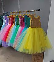 Дитячі святкові сукні з блискітками