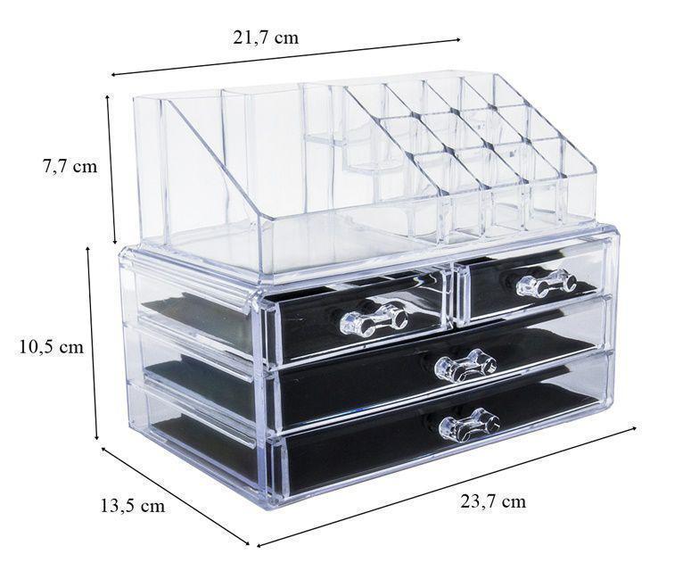 Акриловый органайзер Cosmetic Storage Box для косметики