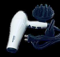 Професійний фен для волосся Gemei GM-105 Білий, фото 2