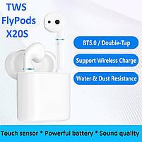 Навушники безпроводові   Bluetooth навушники   Бездротові сенсорні навушники X20S, фото 4