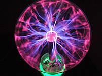 Ночник   Светильник   Плазменный шар с молниями Plasma Light Magic Flash Ball 5 дюймов, фото 5