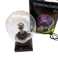Ночник   Светильник   Плазменный шар с молниями Plasma Light Magic Flash Ball 5 дюймов, фото 8
