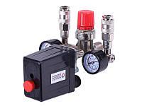 Автоматика для компрессора в сборе 220 вольт, 2 выхода (тип 2) - Compressor