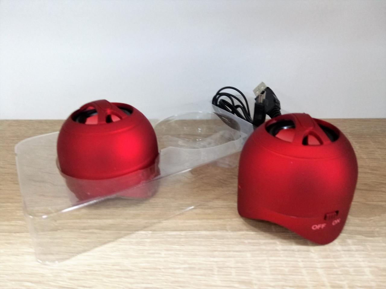 Портативные USB колонки для ПК Mini Speaker 112-113
