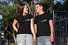"""Парные футболки для парня и девушки  """"Серцебиття+Кохаю"""", фото 3"""