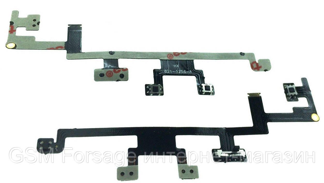 Шлейф iPad 3 Power On, Off (A1416 / A1430 / A1403)