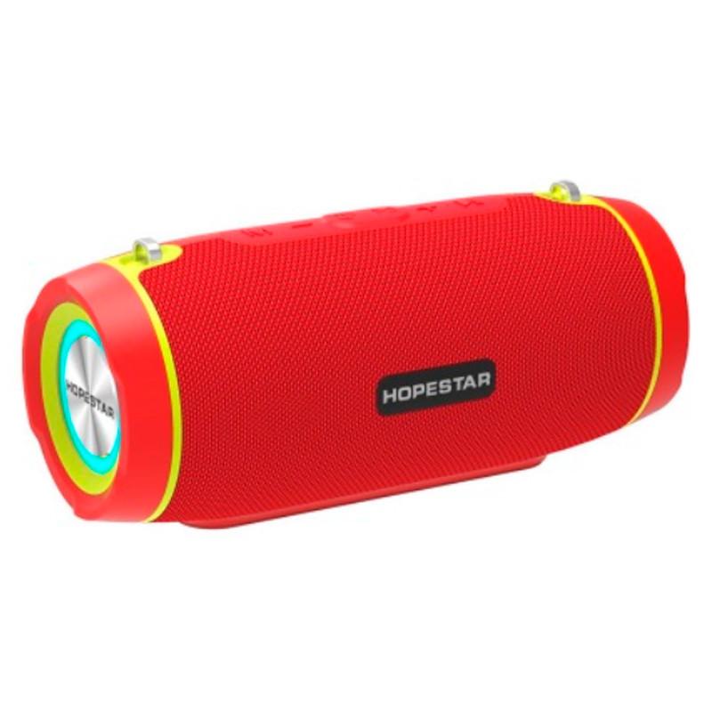 Портативная беспроводная Bluetooth колонка Hopestar Original Hopestar H45 Party Red Speaker