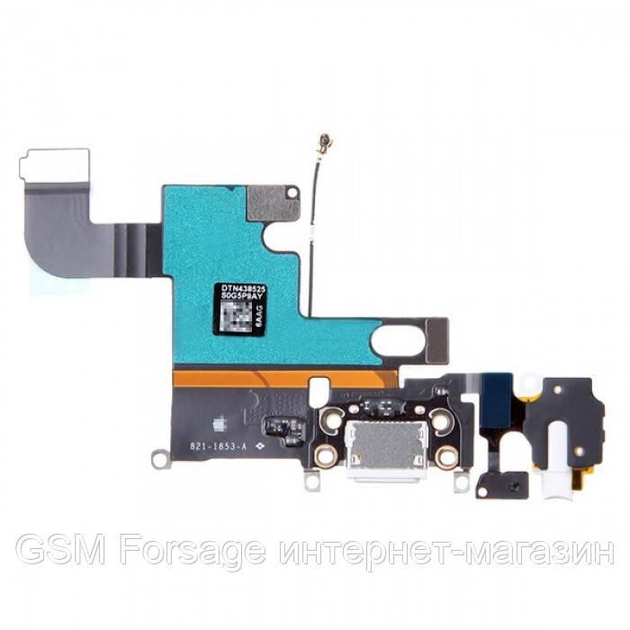 Шлейф iPhone 6 (4.7) Charge Black complete