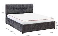 """Ліжко м'яка з підйомним механізмом """"Трініті"""" Гарант-М'яка купити в Одесі, Україні"""