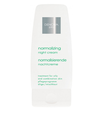 Нормализующий ночной крем для жирной и комбинированной кожи лица 60 мл  DENOVA HOME